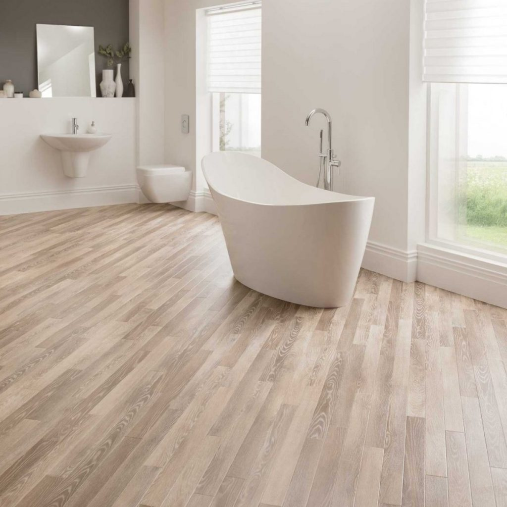 Did you know we do bathroom flooring as well?